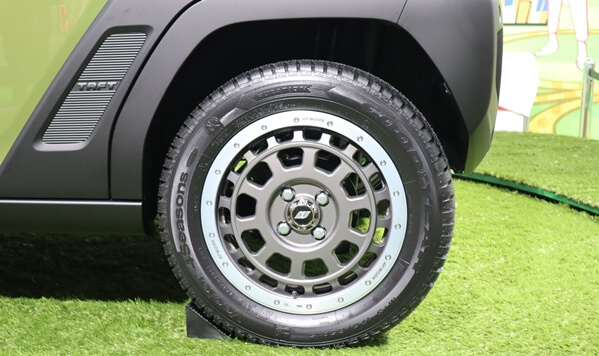 タフトのタイヤ