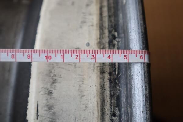 ホイールを測る